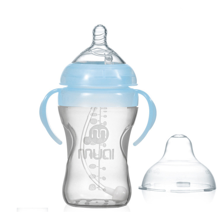 Baby silicone bottle---00090