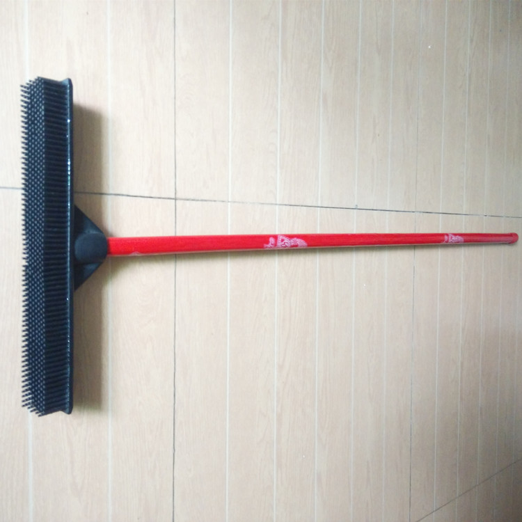 colorful wooden broom stick